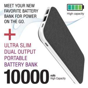 CaseMetro Ultra Slim 10k Battery Bank