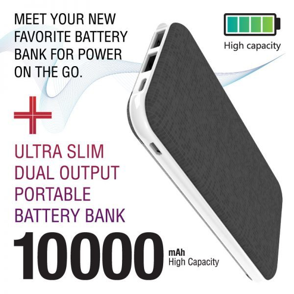 CaseMetro Ultra Slim 10k Battery Bank