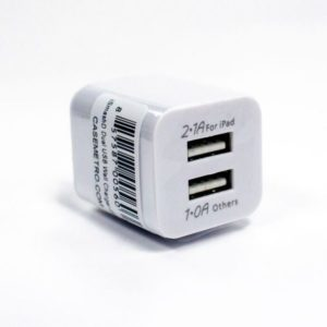 Dual USB Wall Adapter w/ FAST charge