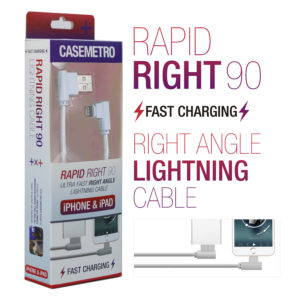 CaseMetro Rapid Right Lightning Cable