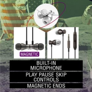 SpaceBuds Ultra Quality Magnetic Earbuds